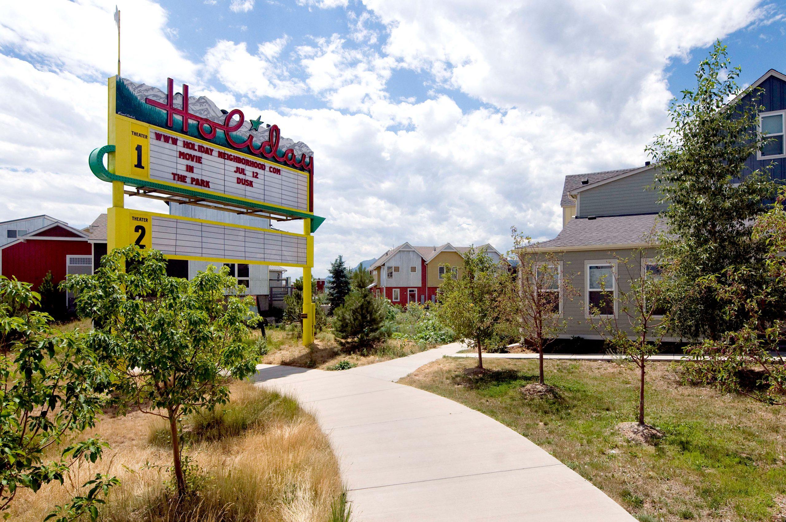 Holiday Neighborhood Master Plan Central Garden Historic Sign