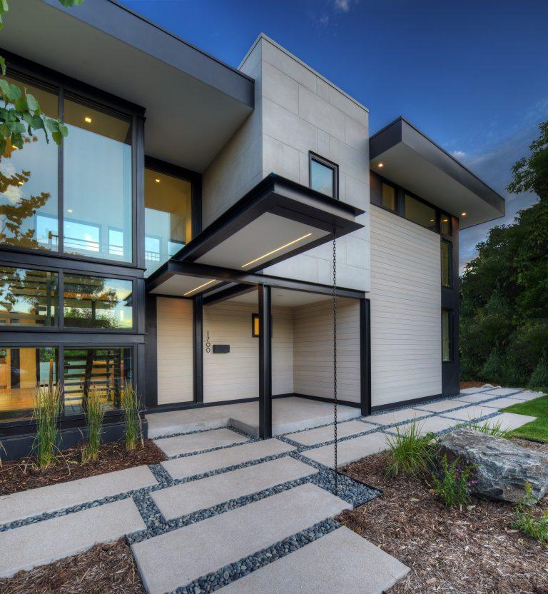 Schneider Residence Architectural Entryway