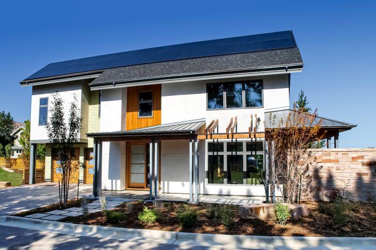 Spring Leaf Homes Front Entrance Architectural Details